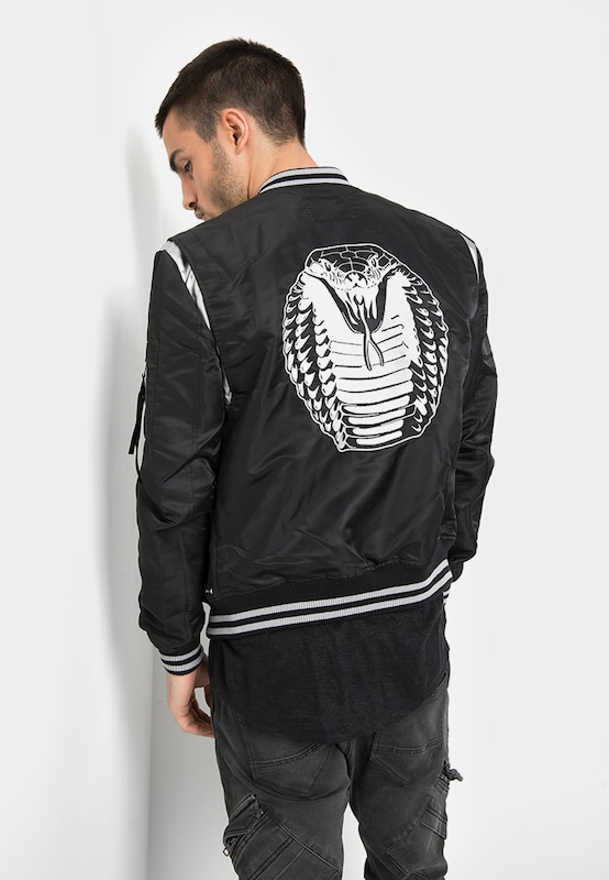 tigha Metallic Bomberjacke  Dexter