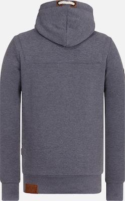 naketano Sweatshirt 'Lennox' in Donkergrijs