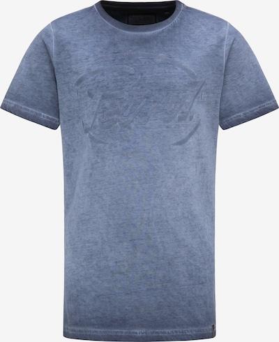 Petrol Industries T-Shirt in blau: Frontalansicht