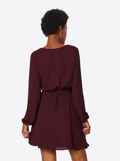 VILA Kleid in kirschrot: Rückansicht