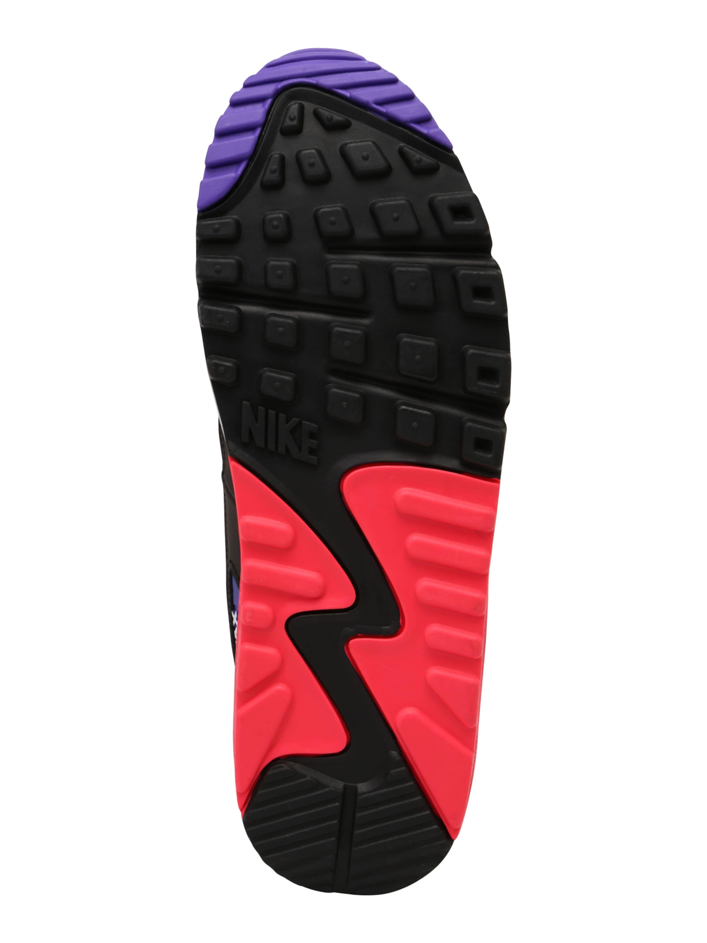 Weiß Max Low In Sportswear Nike '90 Essential' RotSchwarz Sneaker 'air QdEBrCoexW