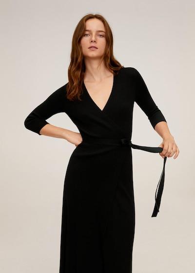 MANGO Kleid 'Zenis' in schwarz, Modelansicht