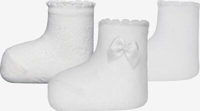 EWERS Erstlingssöckchen in weiß, Produktansicht