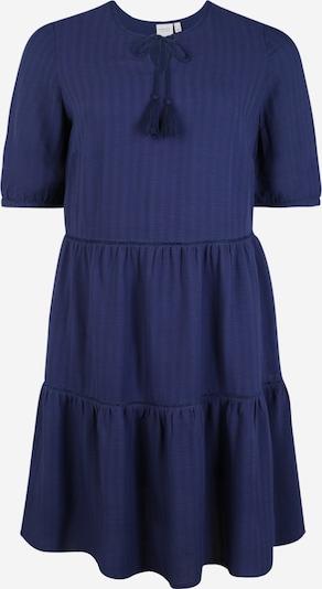 Junarose Robe-chemise 'Valuna' en bleu foncé, Vue avec produit