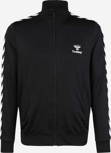Hummel Veste de sport 'Nathan' en noir / blanc, Vue avec produit