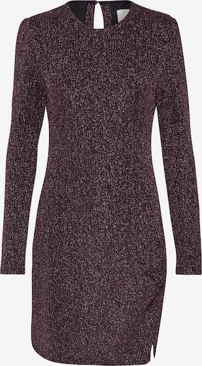 MINKPINK Kleid 'LUREX' in dunkellila / schwarz, Produktansicht