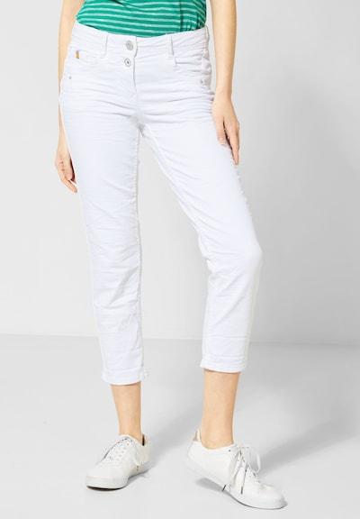 CECIL Weiße 7/8-Denim Scarlett in weiß, Modelansicht
