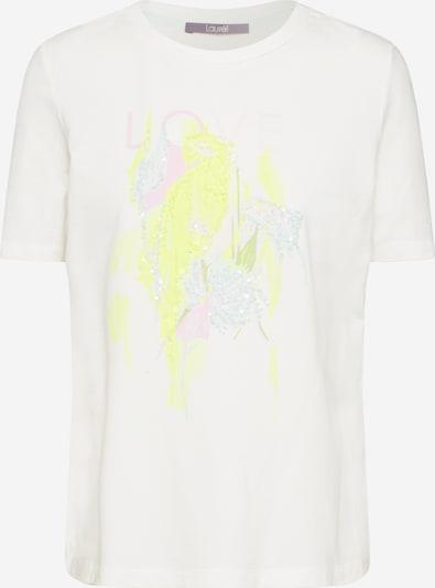 LAUREL T-shirt en blanc, Vue avec produit