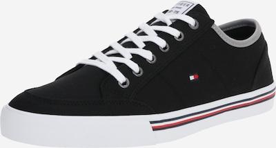TOMMY HILFIGER Sneaker 'Harrington 16D' in grau / schwarz / weiß, Produktansicht