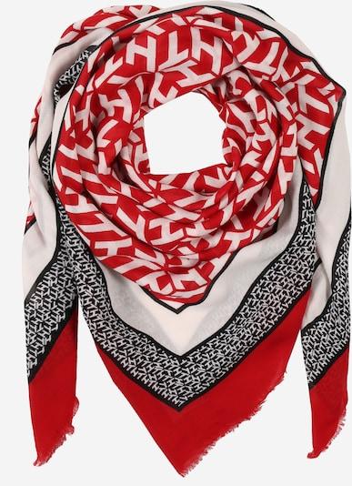 TOMMY HILFIGER Masque en tissu en rouge / noir / blanc: Vue de face