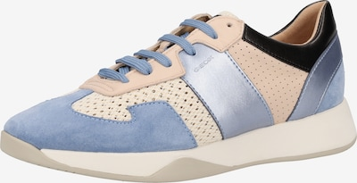 GEOX Sneaker in beige / hellblau: Frontalansicht