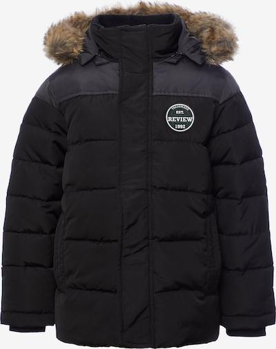 REVIEW FOR KIDS Winterjacke in basaltgrau / schwarz, Produktansicht