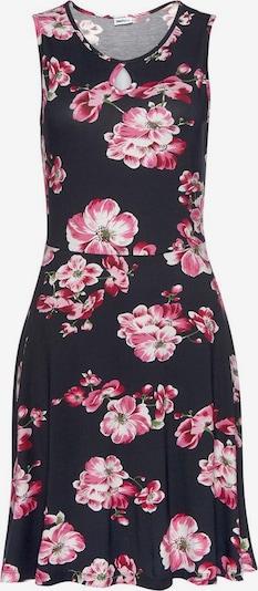 Vasarinė suknelė iš BEACH TIME , spalva - tamsiai mėlyna / rožinė / balta, Prekių apžvalga