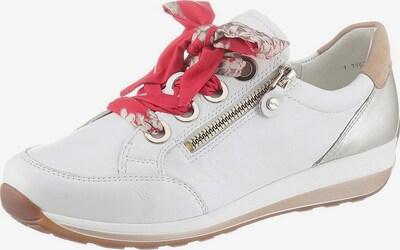 ARA Sneakers laag 'Osaka' in de kleur Camel / Zilver / Wit, Productweergave