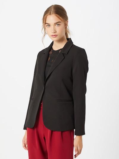 PIECES Blazer in schwarz, Modelansicht