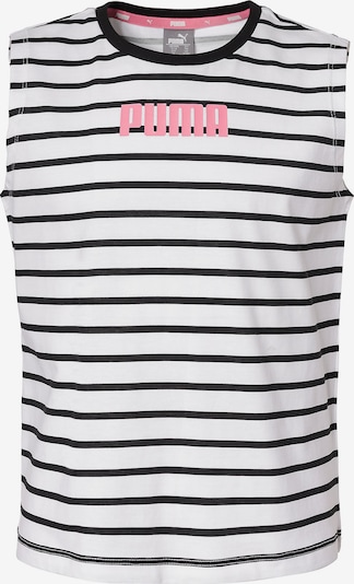 PUMA T-shirt in weiß: Frontalansicht