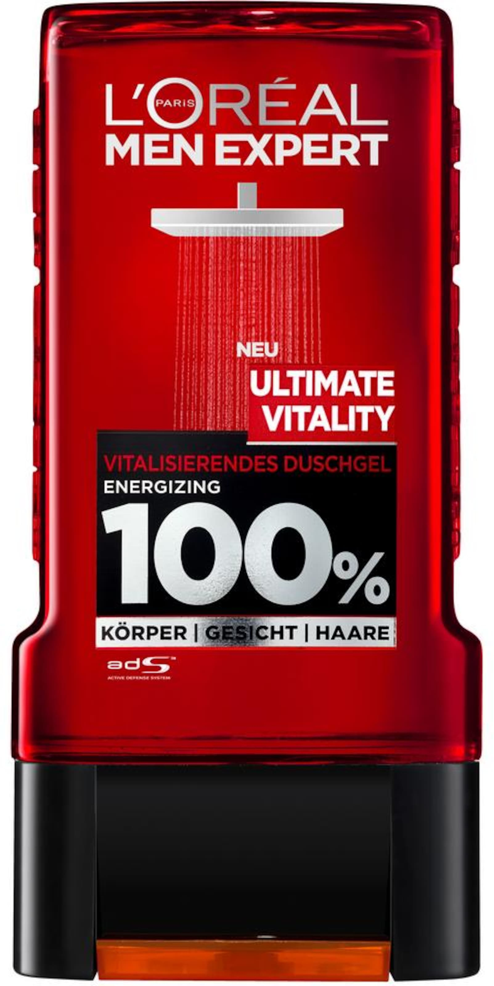 Expert L'oréal Schwarz Men Paris Set In DunkelgrauFeuerrot 'vitality' Fl1J35uTKc