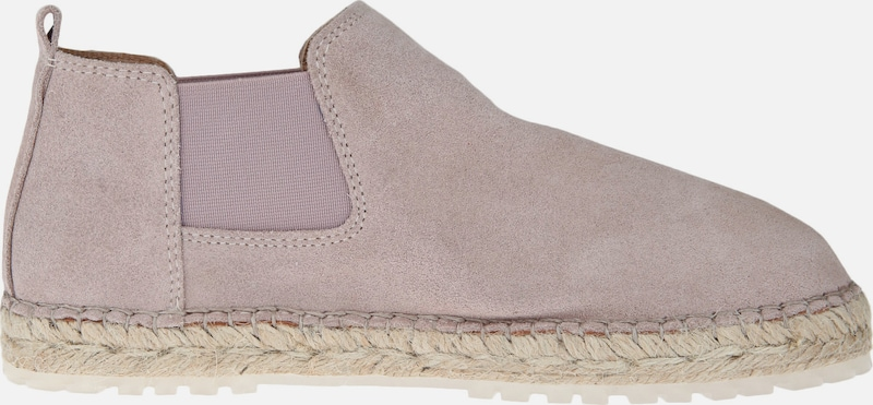 SHABBIES AMSTERDAM Espadrille CHELSEA ANKLE BOOT SUEDE