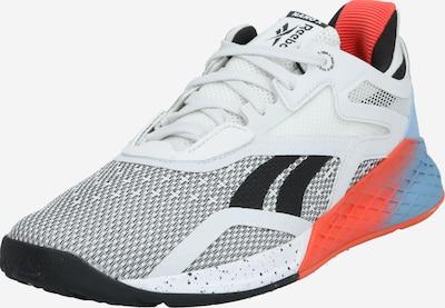 REEBOK Sportschuh in hellblau / orange / weiß, Produktansicht