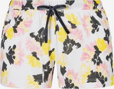 Pižaminės kelnės iš VIVANCE, spalva – geltona / rožių spalva / juoda / balta, Prekių apžvalga