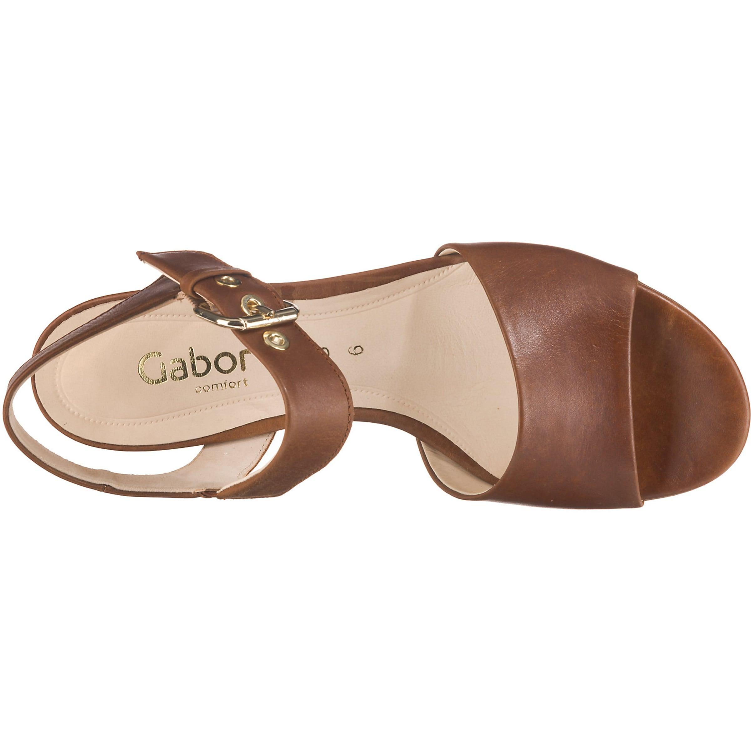 Sandaletten In Klassische Gabor Braun Sandaletten In Braun Gabor Klassische Y7b6gfy
