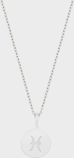 ID Fine Ketting 'Fische' in de kleur Zilver, Productweergave