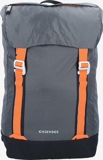 CHIEMSEE Rucksack in grau / dunkelorange, Produktansicht