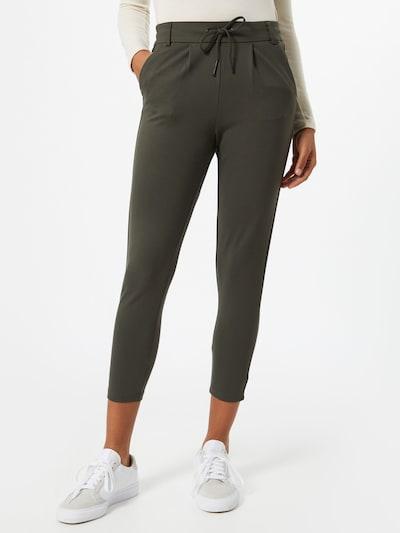 Only (Petite) Pantalon 'Petit' en olive, Vue avec modèle