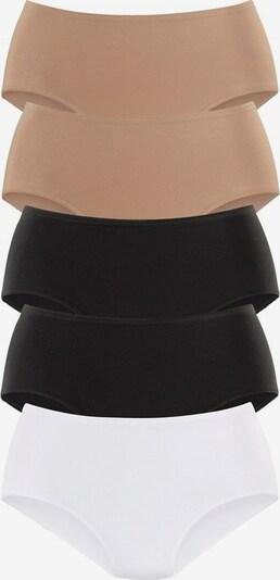 PETITE FLEUR Jazzpants (5 Stück) in nude / schwarz / weiß, Produktansicht