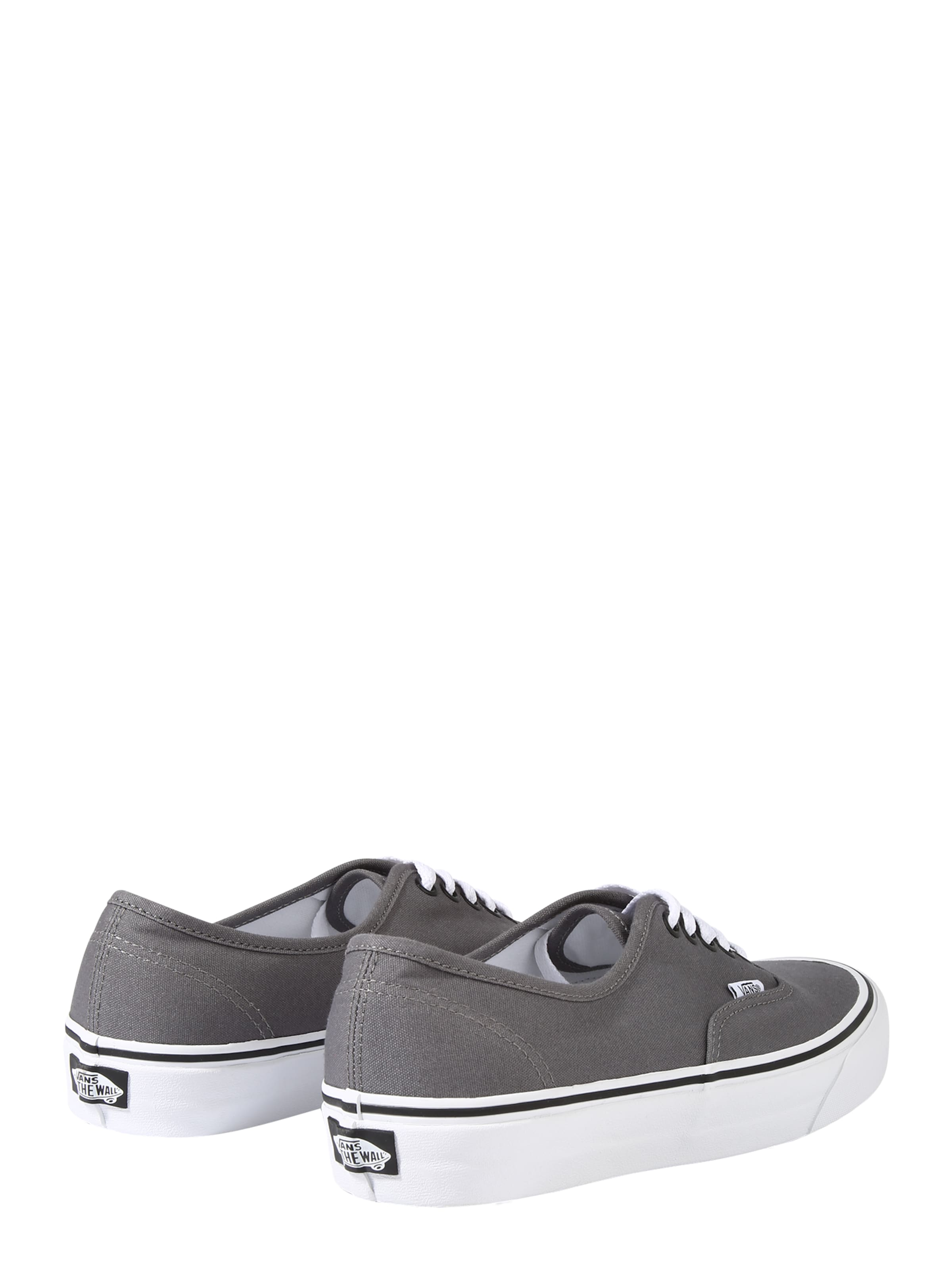Basses Blanc FoncéNoir En Vans Baskets 'authentic' Gris OPZiukTX