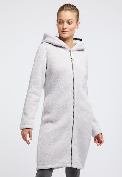 Schmuddelwedda Manteau en tricot en gris, Vue avec modèle