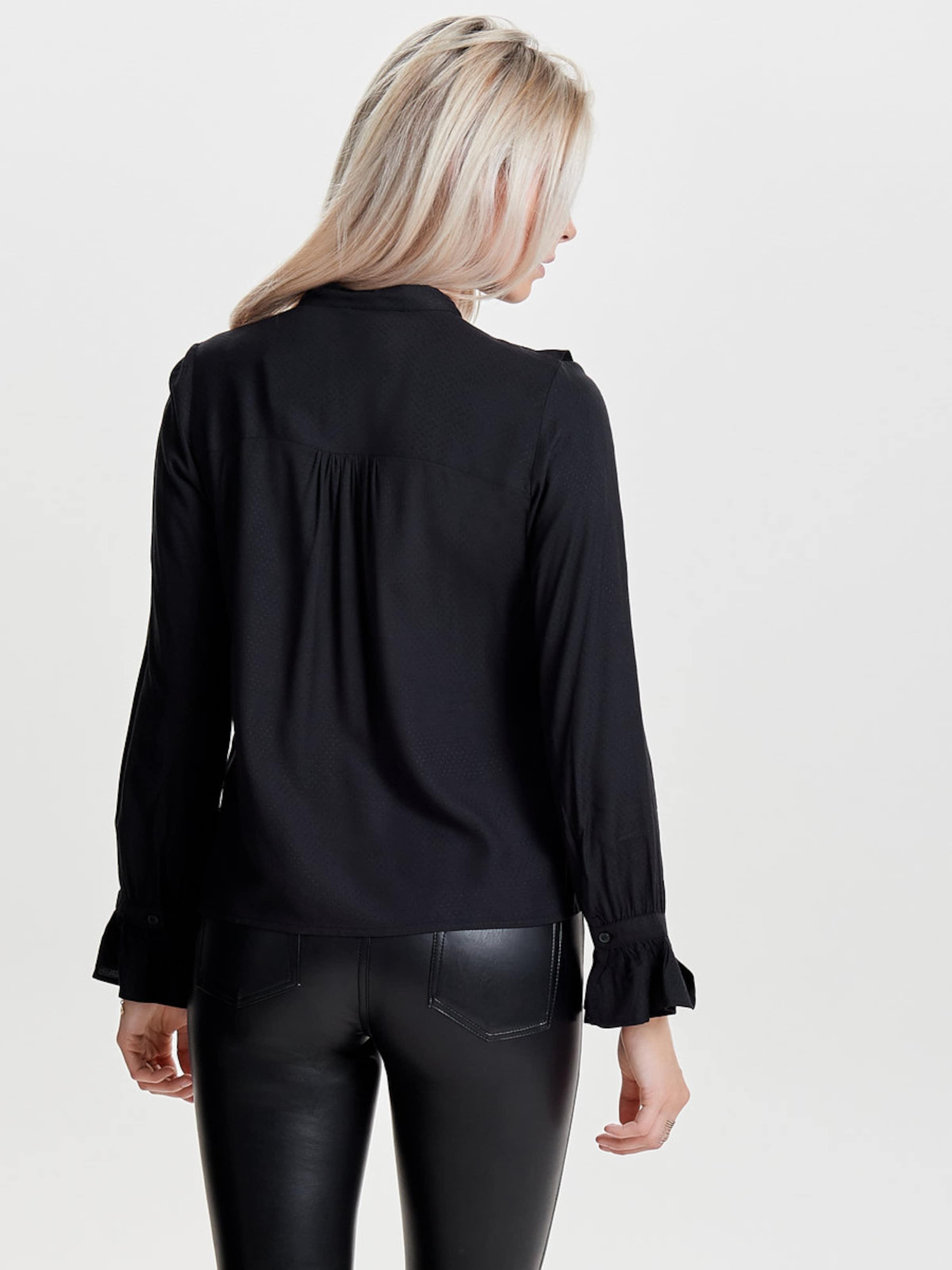 ONLY Rüschen-Langarmhemd Geniue Händler Verkauf Online m1w61tPbmZ