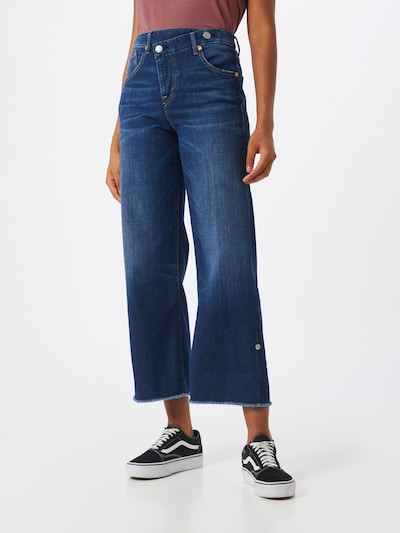 Jeans 'Maze' Herrlicher pe denim albastru: Privire frontală