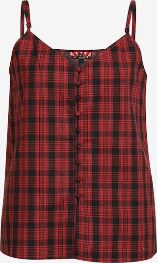 MYMO Top in rot / schwarz, Produktansicht