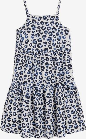 MANGO KIDS Sukienka w kolorze nakrapiany białym, Podgląd produktu