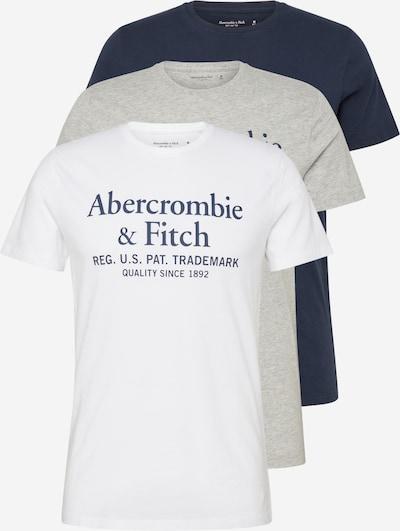 Abercrombie & Fitch Shirt 'SS GRAPHIC CREW MULTI ' in weiß, Produktansicht