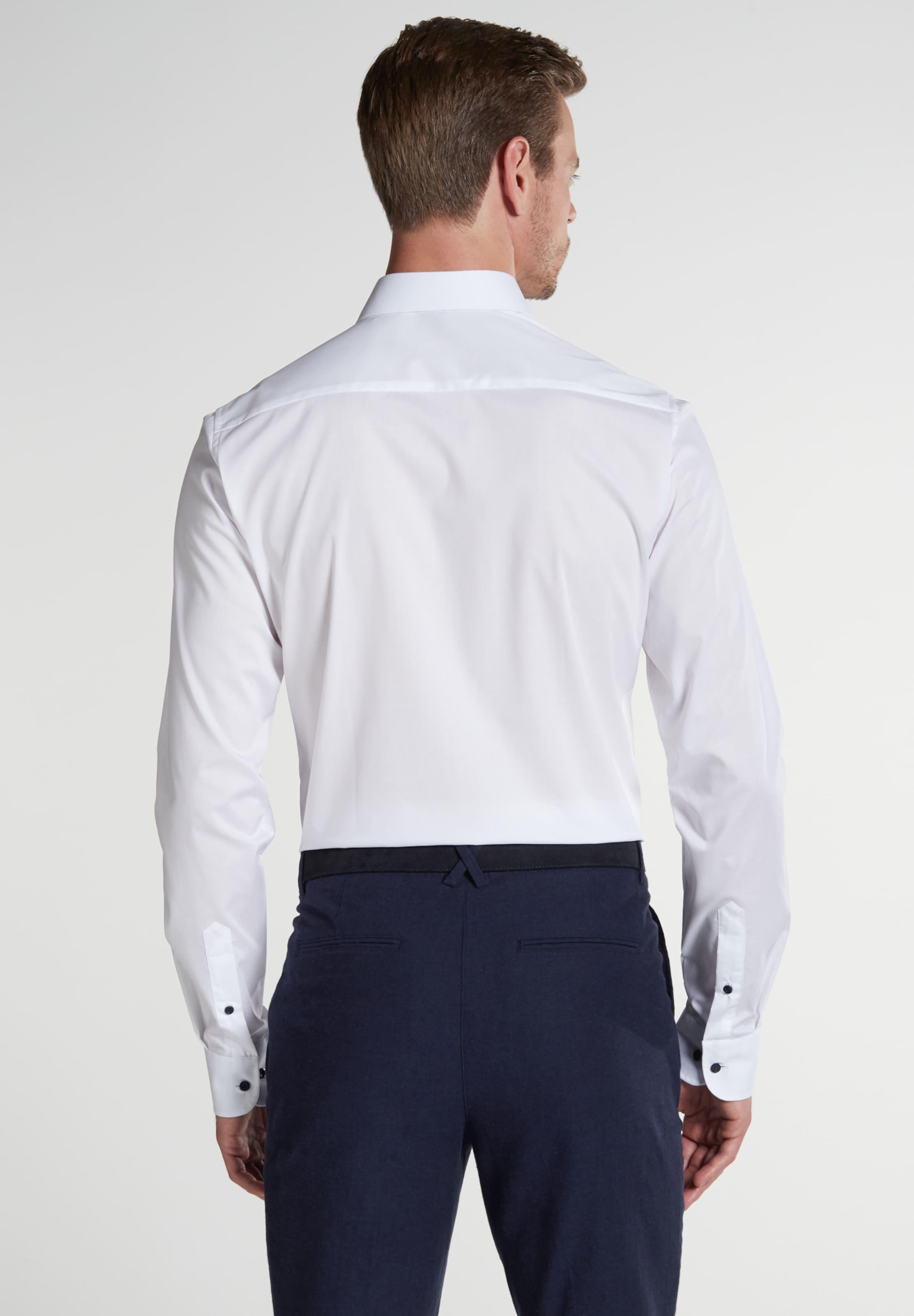Eterna Eterna Eterna Hemd Hemd In Eterna Weiß Weiß In Weiß Hemd In Rj54AL3