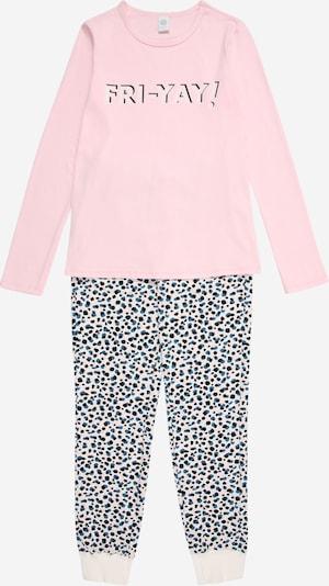 SANETTA Pižama | siva / roza barva, Prikaz izdelka