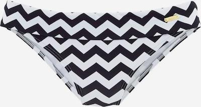 LASCANA Bikini-Hose 'Grace' in schwarz / weiß, Produktansicht