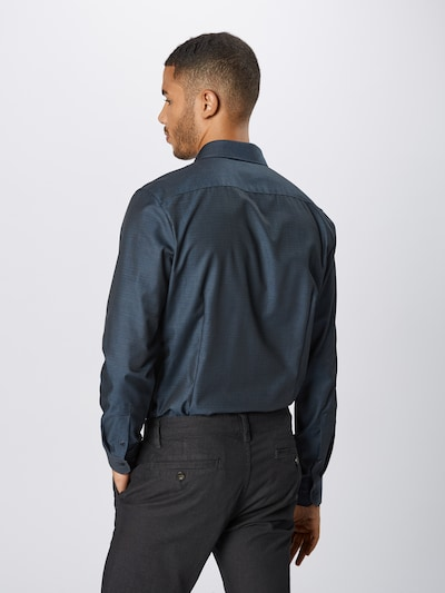OLYMP Biroja krekls 'No. 6 Struktur' pieejami kamuflāžas: Aizmugures skats