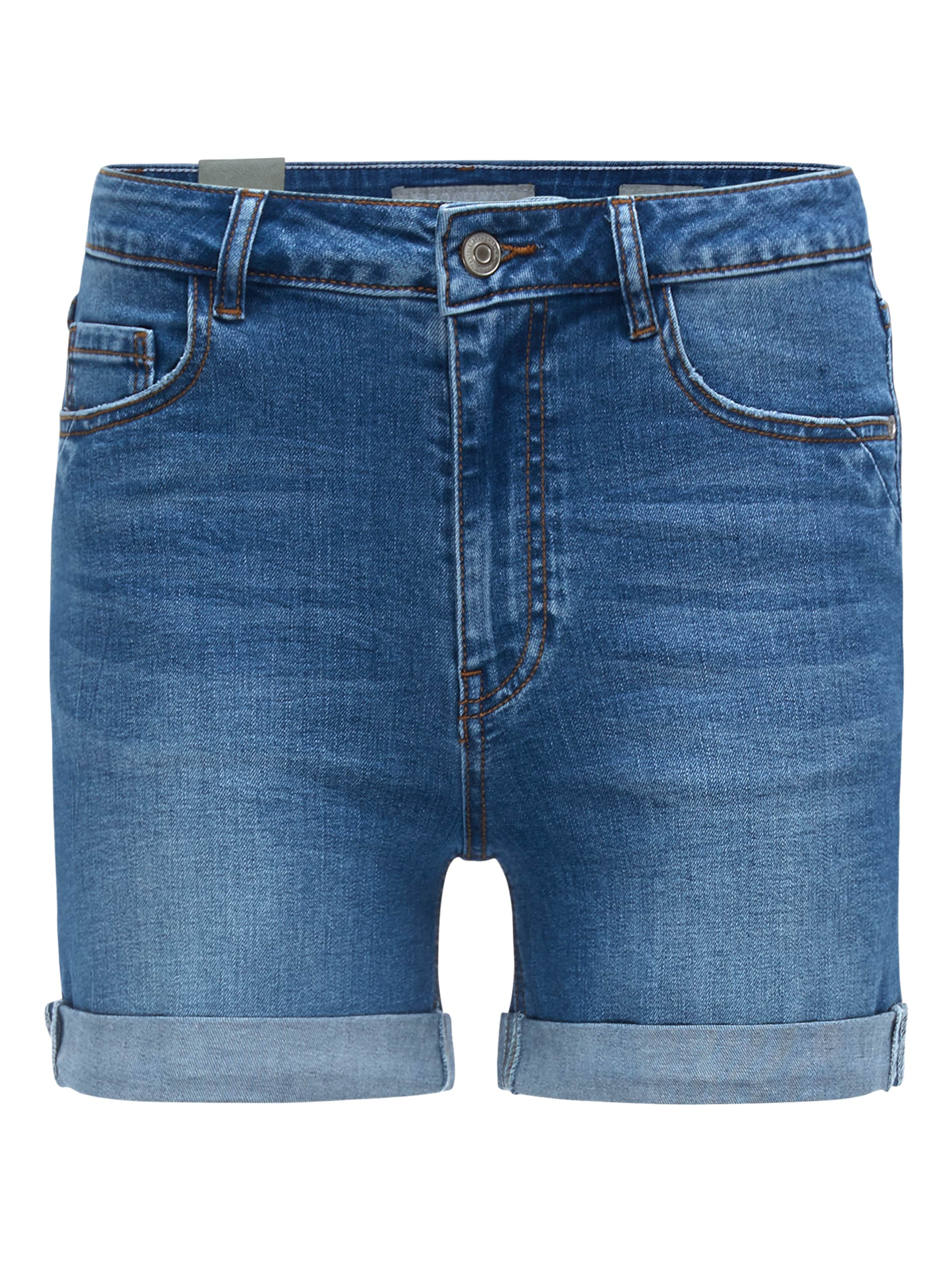 2862' Fashion In Dunkelblau Shorts Nyc Broadway 'lou bY76vyIfgm