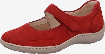 WALDLÄUFER Classic Flats in Red, Item view
