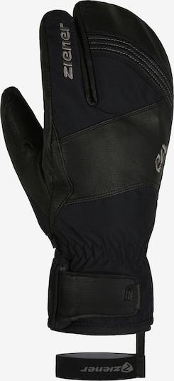 ZIENER Skihandschuhe in schwarz, Produktansicht