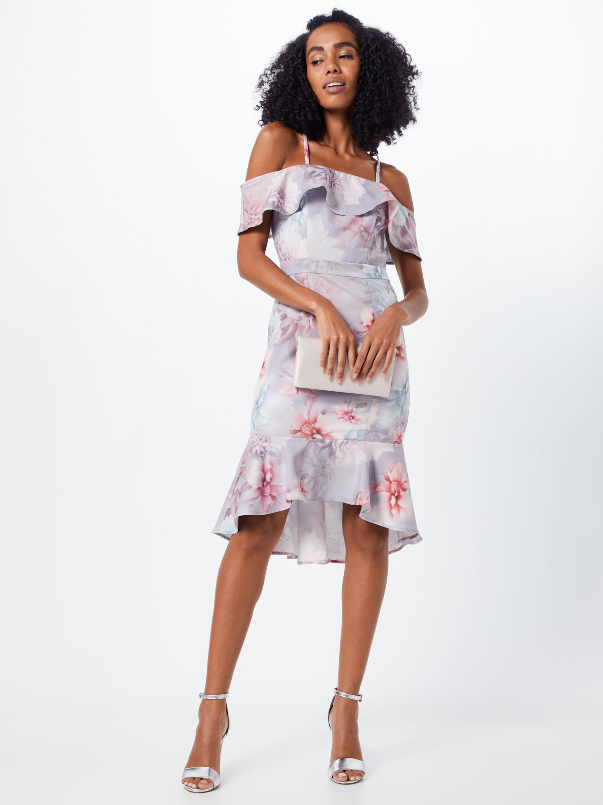 Chi Chi London Cocktailklänning 'CHI CHI ETIENNE DRESS' i pastellrosa