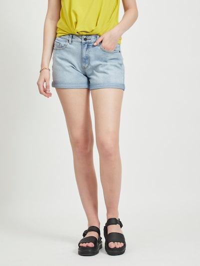 OBJECT Jeansshorts in hellblau, Modelansicht