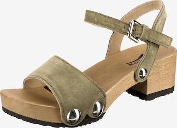 SOFTCLOX Sandale 'Penny' in Grün