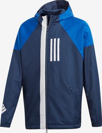 ADIDAS PERFORMANCE Windjacke 'Id Wnd' in blau / dunkelblau / weiß, Produktansicht