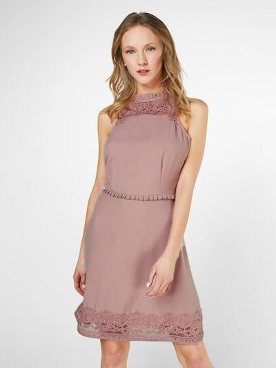 Carolina Cavour Cocktail Kleid in rosé: Frontalansicht