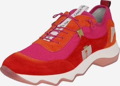 Donna Carolina Sneakers laag in de kleur Pink / Oranjerood, Productweergave