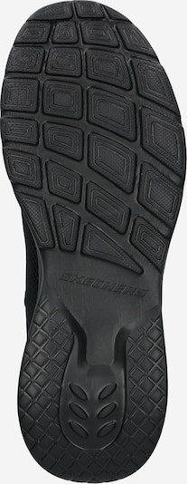 Sneaker low 'DYNAMIGHT 2.0' SKECHERS pe negru: Privire de sus